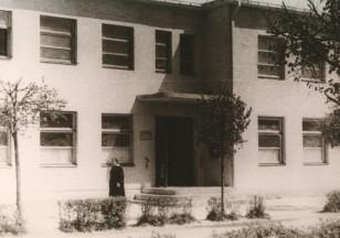Paštas. Apie 1975 metus. J.Bukausko nuotrauka.