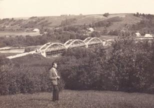 Senojo tilto statyba